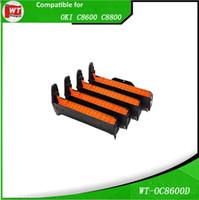 Wholesale Drum Cartridge - OKI C8600 DRUM , Compatible Drum Cartridges for use in OKI C8600 8800 , OEM: 43449013 14 15 16 , BK C M Y - 20,000