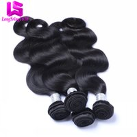 Wholesale Virgin Peruvian Human Hair 5pcs - Cheap 100% Unprocessed Peruvian Body Wave Virgin Human Hair Extensions 5pcs lot Unprocessed Human Hair Weaves Dyeable