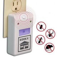 Wholesale Electronic Repeller Riddex - NEW RIDDEX electronic pest repeller pest repelling aid ultrasonic   electromagnetic Anti Mosquito Mouse Insect Cockroach Control