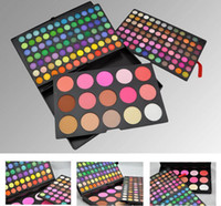 Wholesale 168 Color Palette - 183 Colors Makeup Palette 168 Color Matte Eyeshadow Palette & 9 Colors Blsuh & 6 Colors Bronzers