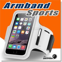 Wholesale Sports Armband Galaxy - For Iphone 7 ArmBand Case, Water Resistant Sports Armband with Key Holder for iPhone 7 Plus, Samsung Galaxy S7 S7 edge Note 5 Note 4
