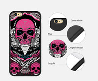 Wholesale Custom Iphone Paint - OEM Personalized Custom DIY Painted Relief Animal TPU Cell Phone Cases for iPhone 6 6S Fedex FREE SHIP