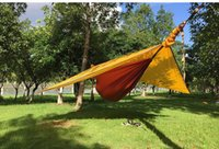 Wholesale Nylon Cocoon - tree tents Hammock Tent Backpacking Equip Travel Camping Cocoon Hanging Tree Portable Cot