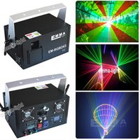 Atacado - 2 vatios RGB Laser Stage Lighting Efeito de mistura DJ Home Party show Light Full Color Professional Adjustable Club Bar