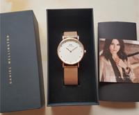 Wholesale D Shock - 2017 top luxury brand Daniel women men Wellington's fashion d&w stainless steel mesh style 40mm rose gold mens watches montre femme relojes
