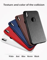 Custodie in pelle per iPhone 8 Custodia in TPU per notebook Custodia morbida per cellulare