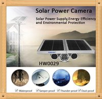 Wholesale Solar Powered Ip Camera Wireless - Third Generation! HW0029-3 Gen Solar Power Starlight IP Camera Onvif Wireless WiFi 720P HD 8mm Lens Night Vision 100m Network Waterproof Rem