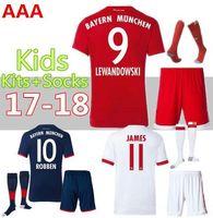 42e48fa0685 Soccer Short Polyester Top Uniforms Kit Youth Kids 2017-2018 Soccer Jersey  Bayer  7
