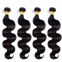 Wholesale Indian Remy Hair Wigs Wholesale - Superior wig Brazilian Hair weft Body Wave 7A Unprocessed Indian virgin remy human hair Support for custom Chinese suppliers