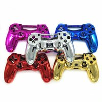 Gen Game Il nuovissimo kit di case placcate in cromo Case mod complete per PlayStation 4 per controller PS4 Multicolors
