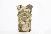 Wholesale Tactical Single and Double Bag Men s bags wearproof backpack backpack combined Camouflage backpackmultifunctional cycling waist bags trave