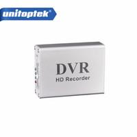 Wholesale Dvr Sd Cctv Recorder - New 1Ch Mini DVR Support SD Card Real-time Xbox HD 1 Channel cctv DVR Video Recorder Board Video Compression Color White