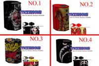 ingrosso adesivi mod box mod-28types box mod Skin per Reuleaux RX200 Wrap Scatola colorata mod Adesivo Bomb RX 200w scatola mod spedizione Nave