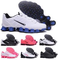 Wholesale China Latest Shoes - Latest Shox TLX Running Shoes Men Women Navy KPU Trainers China Shoxs Max Shoe NZ Man Woman Zapatos Hombre Females Fashion Sports Sneakers