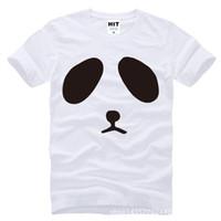 Wholesale Panda Tee Shirts - WISHCART Japanese Kung Fu Panda cartoon anime Printed Mens Men T Shirt Tshirt Fashion 2016 New O Neck Cotton T-shirt Tee Camisetas Hombre