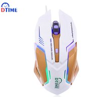 Wholesale lol brand - Wholesale- DTIME Brand Usb Optical Wired Gaming Mouse Game Gamer Games Mice For Computer PC Laptop computador Bloody Deathadder CS Go LOL