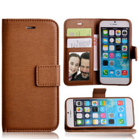 Wholesale Credit Card Holders Cheap - Luxury Leather Wallet Phone Case Cheap Fitted Wallet Case with Card Pocket Kickstand Dirt-resistant Credit Card Holders for IPhone Samsung