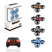 Wholesale Fixed Wing Helicopter - Original ELF VS H36 Mini Drone 6 Axis RC Micro Quadcopters With Headless Mode One Key Return Helicopter ZK25