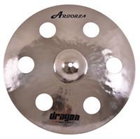 cymbale de tambour de porcelaine achat en gros de-Arborea Dragon series 100% traditionnelle à la main 17inch crash drum cymbal à vendre de la chine