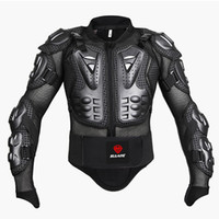 Wholesale Motorcycle Back Armor - Black Red Motorcycles Armor Protection Motocross Clothing Jacket Protector Moto Cross Back Armor Protector Motorcycle Jackets