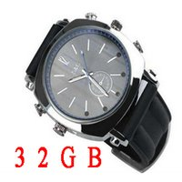 Wholesale Hd Infrared Spy Watch - 1080p hd watch spy camera Infrared Night Vision 1920*1080 Motion detection camera watch 32GB with retail box,W9000 watch spy camera