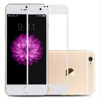 Wholesale Hd Wholesale Products - Tempered Glass Screen Protector For iPhone 6 6S 7 Plus Ultra Thin Anti-fingerprint Coating HD Glass Screen Protector Hot Sale Products