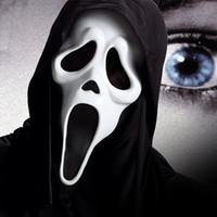 маска ведьм оптовых-5 стилей Хэллоуин костюм маска партии страшно вампир ведьма призрак лицо крик Маска с костюмом Маскарад Маска IC747