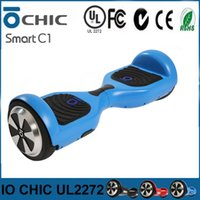 Wholesale Mobility Electric Scooter - IO CHIC Smart Scooter UL2272 Balance Hoverboard Matte Cover Mobility Skateboards Drifting Board IO CHIC C1 Self Balancing Electric Scooters