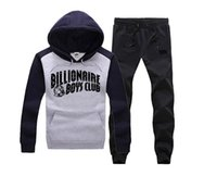 Wholesale Outdoor Castle - 2016 New Brand BBC sweat suit ,men's outdoor casual sweat suit ,hip hop Crooks and Castles sports long sleeved men sets ,free shipping