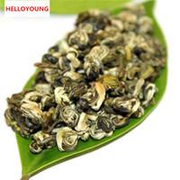 cuidado verde venda por atacado-Promoção C-LC015 Nova Primavera Biluochun chá 100g premium chá Pilochun Bi luo chun chá verde os produtos de cuidados de saúde de alimentos verdes