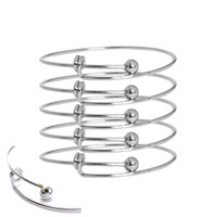 Wholesale Adjustable Set - The 10pcs fashion bracelet provides stainless steel toner with adjustable copper wire air bracelets, made of homemade jewelry