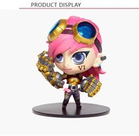 Wholesale Lulu Action Figure - 2016 New LOL 6 styles PVC Action figure High quality lol Heimerdinger Lulu Vi Galen Darius Thresh Toys In stock