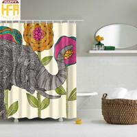 Best Elephant Shower Curtains to Buy   Buy New Elephant Shower ...