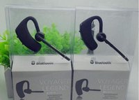 Wholesale Voyager Bluetooth - Bluetooth Headset Voyager Legend With Text And Noise Reduction Stereo Headphones Earphones For Iphone Samsung Galaxy HTC US03 2016