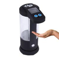 Wholesale Liquid Bath Dispenser - Automatic Sensor Touch-free Liquid Soap Dispenser Handsfree Sanitizer Dispenser Kitchen Bath Supplies Free Shipping order<$18no track