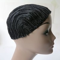 Wholesale wig sales for sale - Group buy Braided Cap Cornrows Cap for Making Braiding wigs Crochet Braids hairnets wig caps three Size hot sale