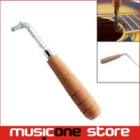 Wholesale Guitar Wrench mm Truss Rod Adjustment Hex Wrench Tool for Folk Classical Guitar with Wooden Handle