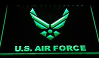 Wholesale Led Air Sign - LS2441-g U.S. Air Force LED Neon Light Sign Decor Free Shipping Dropshipping Wholesale 6 colors to choose