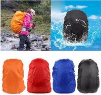 Wholesale Outdoor Backpack Raincoat - Practical Waterproof Dust Rain Cover For Travel Camping Backpack Rucksack Bag Outdoor Luggage Bag Raincoats 7 Colors
