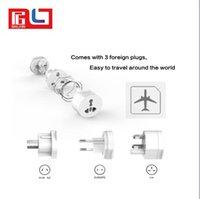adaptadores elétricos universais venda por atacado-UTA Adaptador de Plugue Elétrico Universal Viagem Tomada Conversor de Soquete Tudo em Um Uso Mundial para EUA / Reino Unido / UE / AU