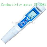Wholesale Measurements Cm - KEDIDA Pocket Conductivity Meter Digital LCD ATC Measurement PenType 0-19.99 mS cm Resolution 0.01mS Chemical Industries Monitor
