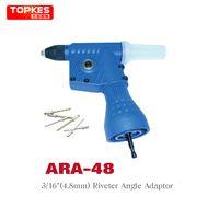 Wholesale Rivets Gun - Taiwan TOPKES Electric rivet gun riveting tool hitter riveting Drill Adaptor riveter angle adaptor Insert nail tool 2.4-4.8mm T03023