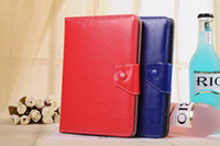 Wholesale acer tablet covers resale online - For inch Tablet PC MID PSP Flip Cover Universal Adjustable PU Leather Stand Case for iPad Samsung Pad Tablet