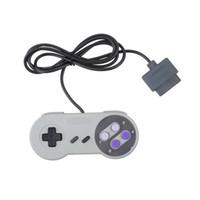 Wholesale Nintendo Bit - 16 Bit Controller for Super for Nintendo SNES NES System Console Control Pad Wholesale