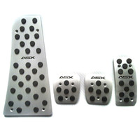 Wholesale clutch pedal for sale - Group buy Aluminum Accelerator Pedal Clutch Brakes Foot Rest Pedal for Mitsubishi ASX Car Styling Accessories AT MT