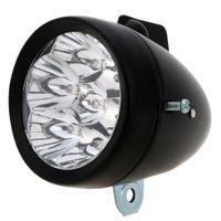 Wholesale Retro Bike Light Led - Safety Outdoor Cycling Night Light Lamp 7 LED Retro Bicycle Front Light Bike LED Headlight Luces Bicicleta
