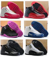 Wholesale Game Master - Women Retro 12 GS Hyper Violet Youth Pink Valentines Day 12s Plum Fog Flu Game Basketball Shoes Girls Master Taxi Sneakers High Quality