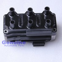 Wholesale Vw Beetle Seat - High quality Automotive Parts New Ignition Coil For VW Golf GTI VR6 Jetta Bora Beetle RSI Seat Leon 021 905 106