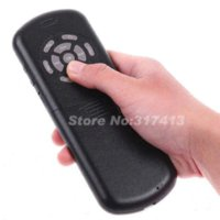 Wholesale Mini Mouse Speaker - Russian version iPazzPort 2.4G Mini Wireless Keyboard Mouse Touchpad IR Remote & Voice Speaker Microphone QWERTY with Backlight