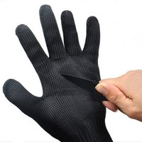 Wholesale Threading Gloves - 5A Cut Resistant Multifunctional Outdoor Fishing Gloves Anti-cut Safety Protective Thread Weave Anti Abrasion Stainless Steel Wire Gloves